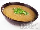 Рецепта Крем супа от гъби печурки и карфиол с кимион